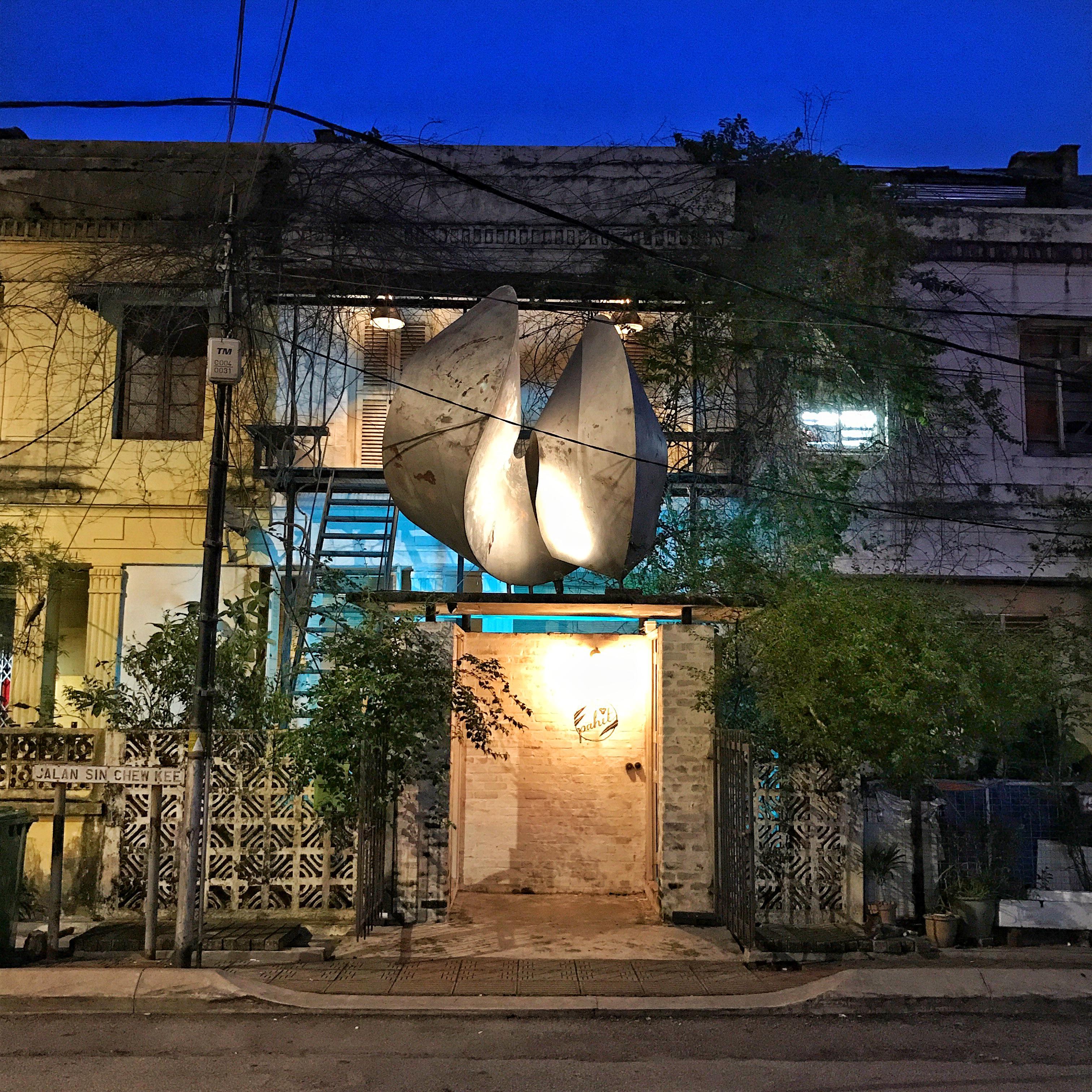 Pahit, hidden gin bar on Jalan Sin Chew Kee