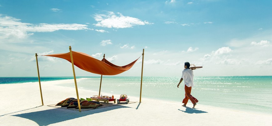 Castaway style at COMO Cocoa Island.