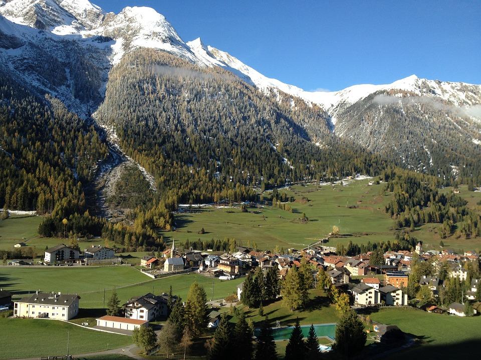 Nature Switzerland Land Bergün Berddorf Mood